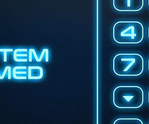 Electronic Security Alarm Panel